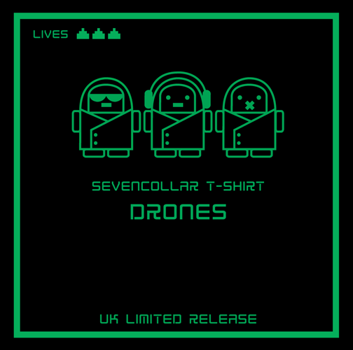 SevenCollar T-Shirt - Drones [UK Limited Release]