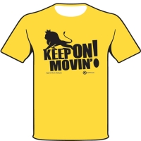 Joe PV 'Keep On Movin' Tee