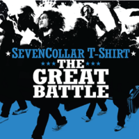 SevenCollar T-Shirt - The Great Battle [CD]
